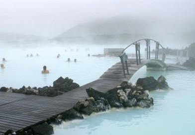 Озеро Голубая лагуна, Исландия
